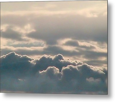 Monsoon Clouds Metal Print