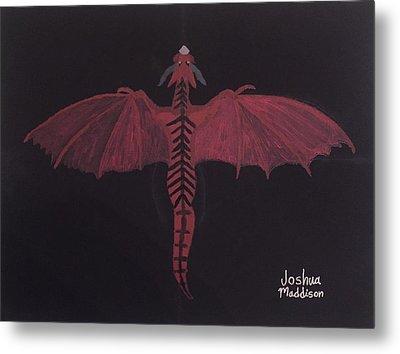 Monsterart Dragonsaurus Metal Print by Joshua Maddison