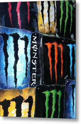 Monster Metal Print by Jeremiah Colley