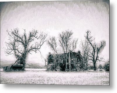 Monster Manor On The Outer Banks Ap Metal Print by Dan Carmichael