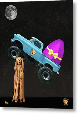Monster Truck Metal Print by Eric Kempson
