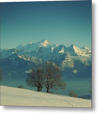 Mont Blanc Metal Print by Lionel Albino