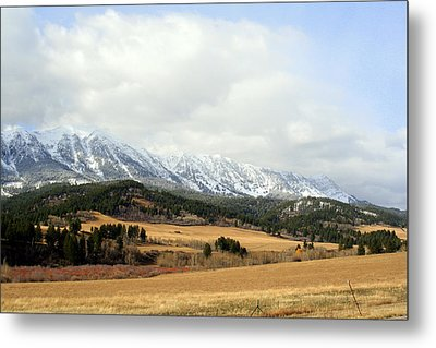 Metal Print featuring the photograph Montana Mountains by Lynn Bawden