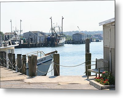 Montauk Harbor  Metal Print