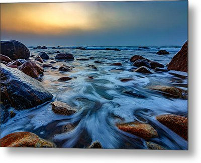 Montauk Point II Metal Print by Rick Berk