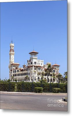 Montaza Palace In Alexandria, Egypt. Metal Print by Mohamed Elkhamisy