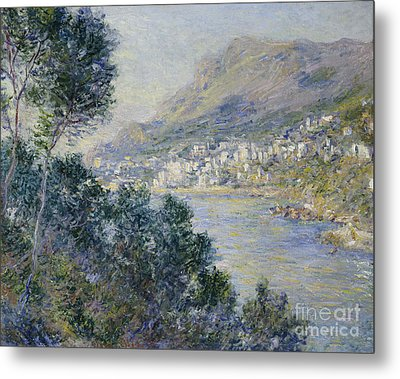 Monte Carlo Metal Print by Claude Monet