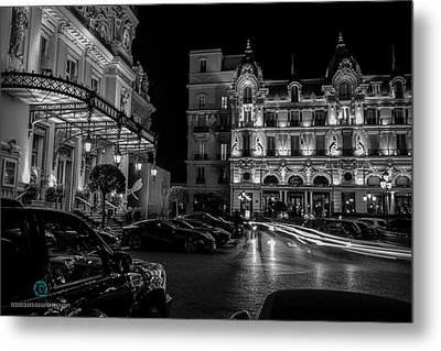 Montecarlo Nights Metal Print
