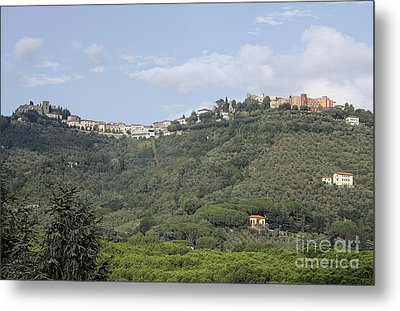 Montecatini Alto Metal Print by Stan and Anne Foster