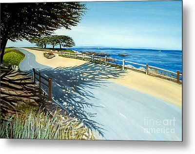 Monterey Shadows Metal Print