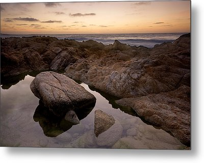 Monterey Sunset Metal Print by Mike Irwin
