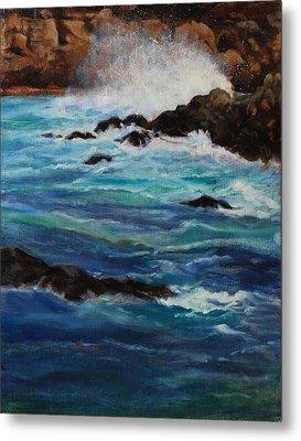 Monterey Wave #2 Metal Print