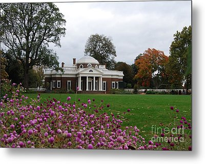 Metal Print featuring the photograph Monticello by Eric Liller