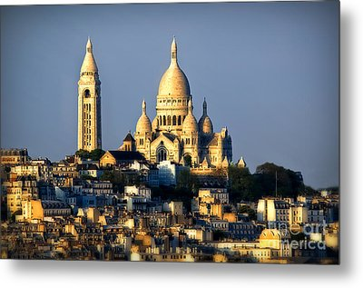 Montmartre Metal Print by Alessandro Giorgi Art Photography