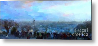 Montmartre From The Butte Metal Print