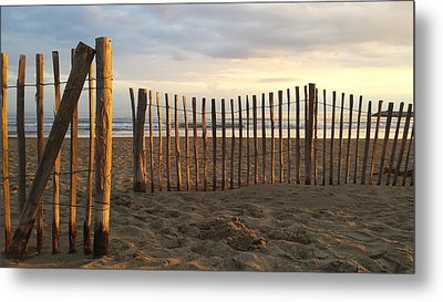 Montpellier France Beach  Metal Print by Beryllium Photography