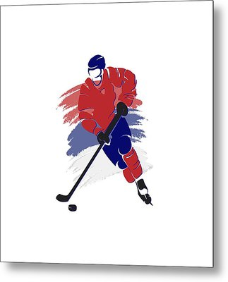 Montreal Canadiens Player Shirt Metal Print by Joe Hamilton