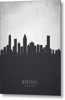 Montreal Quebec Cityscape 19 Metal Print
