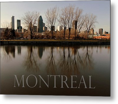Montreal Metal Print by Robert Knight