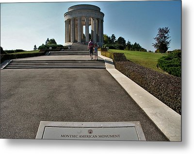 Metal Print featuring the photograph Montsec American Monument by Travel Pics