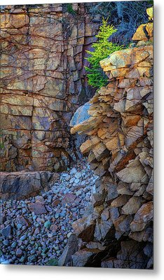 Monument Cove II Metal Print