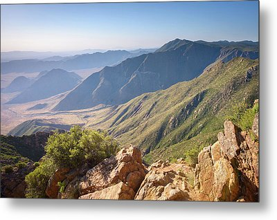 Metal Print featuring the photograph Monument Peak View 1 by Alexander Kunz
