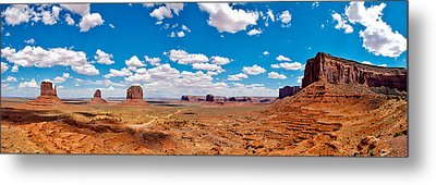Monument Valley - The Large One Metal Print by Andreas Freund