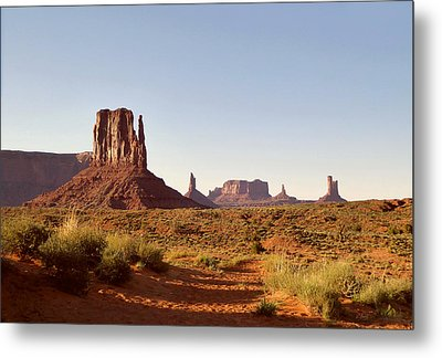 Monument Valley Calm Metal Print by Gordon Beck
