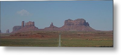 Metal Print featuring the photograph Monument Valley Navajo Tribal Park by Christopher Kirby