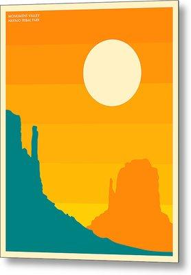 Monument Valley Navajo Tribal Park Metal Print