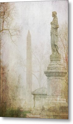 Metal Print featuring the photograph Monumental Fog by Heidi Hermes