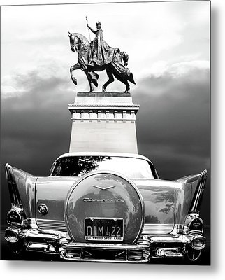 Monumental Metal Print by Larry Butterworth