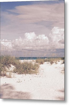 Metal Print featuring the photograph Anna Maria Island Moods Of June by Jean Marie Maggi