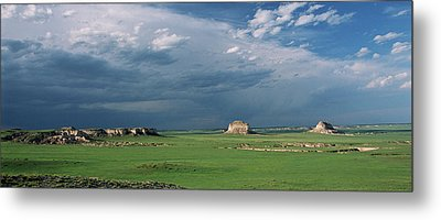 Moody-buttes Metal Print