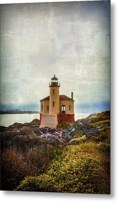 Moody Lighthouse Metal Print by Garry Gay