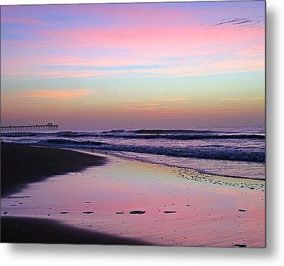 Moody Sunrise Metal Print by Betty Buller Whitehead
