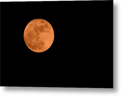 Metal Print featuring the photograph Moon Before Yule  by Bradford Martin