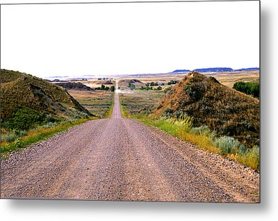 Moon Creek Heavy Traffic Metal Print
