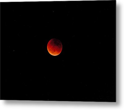 Moon Eclipse 9/27/2015 Metal Print by K L Kingston