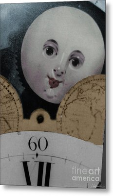 Metal Print featuring the photograph Moon Face by Lyric Lucas