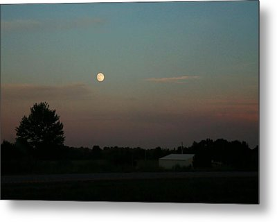 Metal Print featuring the photograph Moon Glow by Ellen O'Reilly