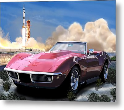 Moon Struck 2 Metal Print by Richard Herron