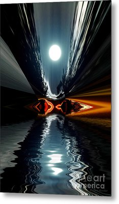 Moonlake Metal Print