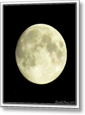 Moonlight  2nd Attempt  Metal Print by Danielle  Parent