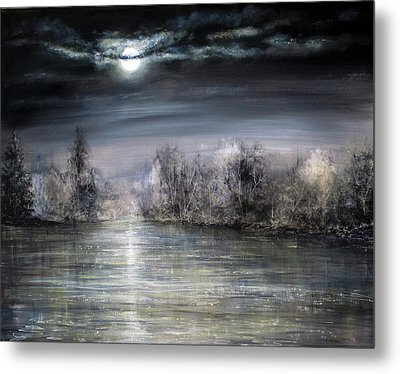 Moonlight Metal Print by Ann Marie Bone