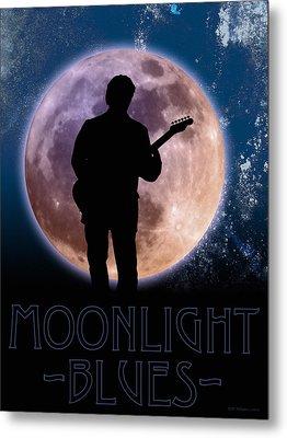 Moonlight Serenade Metal Print by WB Johnston