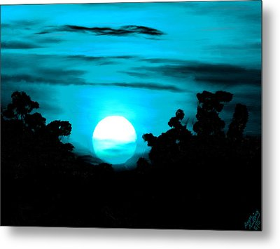Moonlight Sonata  Metal Print by Bruce Nutting