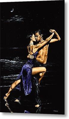 Moonlight Tango Metal Print