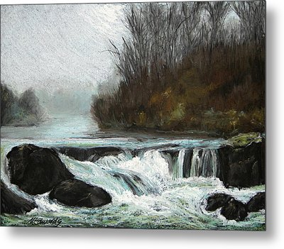 Moonlit Serenity Metal Print by Marna Edwards Flavell