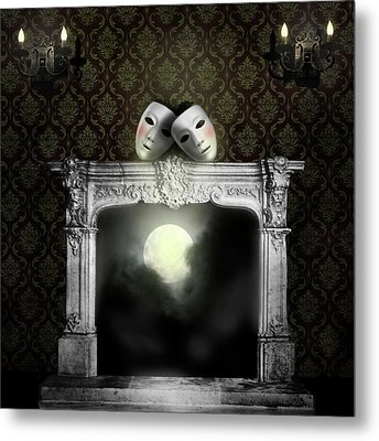 Moonstruck Metal Print by Larry Butterworth